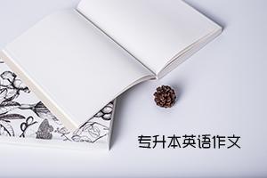 广东普通专升本英语作文中常见的三类低级错误