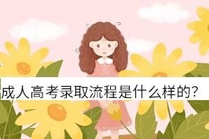 重庆成人高考录取流程是什么样的