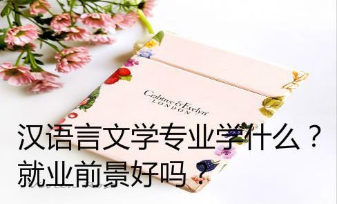 汉语言文学专业学什么?就业前景好吗